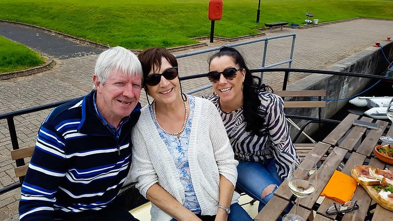 Tommy, Joan & Joanne Egan
