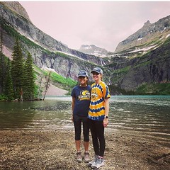 Marquette represented at @glaciernps. Where are you wearing Blue and Gold this summer? #wearemarquette  by @arianguyen94