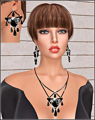 Jewelry by Virtual Diva Couture.