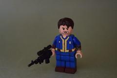 Custom Lego Fallout 4 Dweller