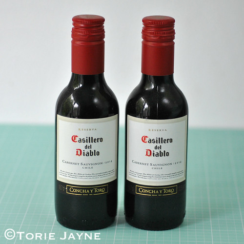 mini wine bottles