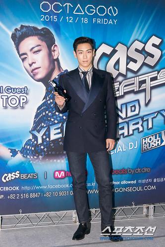 TOP - Cass Beats Year End Party - 18dec2015 - sportschosun - 04