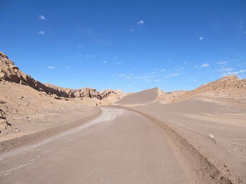 Le désert d'Atacama: el Valle de la Luna et sa Duna Mayor.