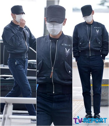 Big Bang - Incheon Airport - 26jun2015 - TV Report - 22
