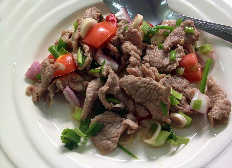 SpicyBeefSalad (Yam Neua)