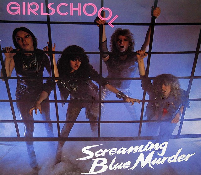"GIRLSCHOOL - SCREAMING BLUE MURDER 12"" Vinyl LP"