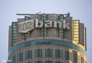 US Bank Sign Transformation