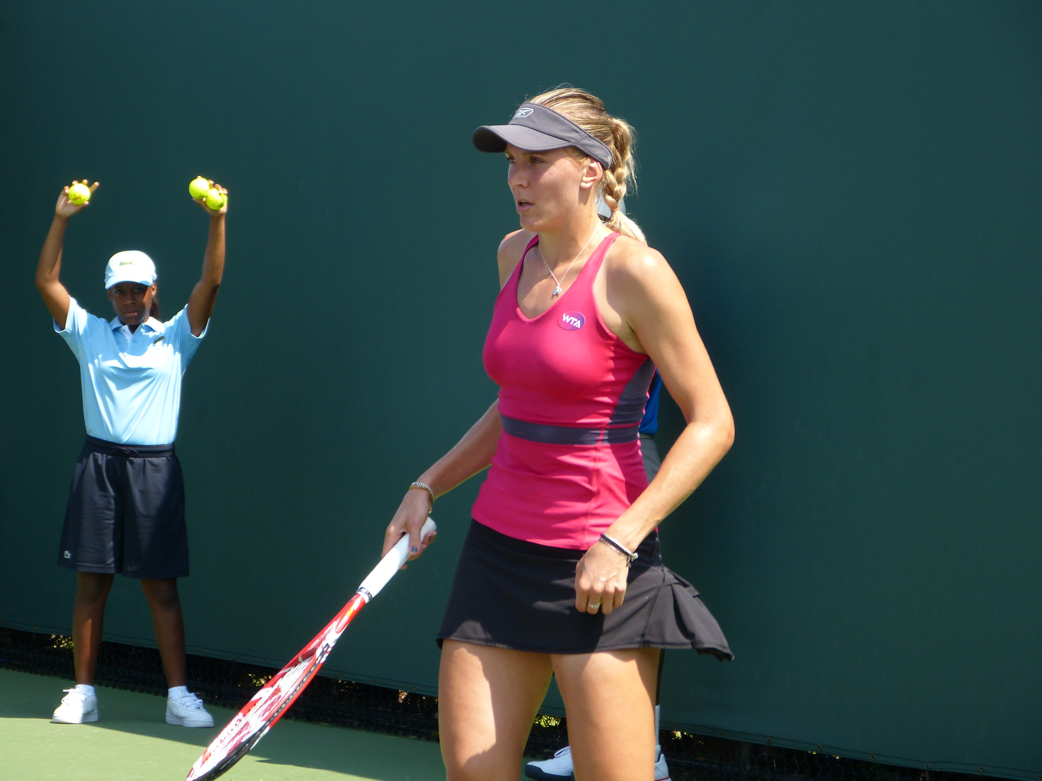 Nicole Vaidisova 2015 Itau Miami Open March 25