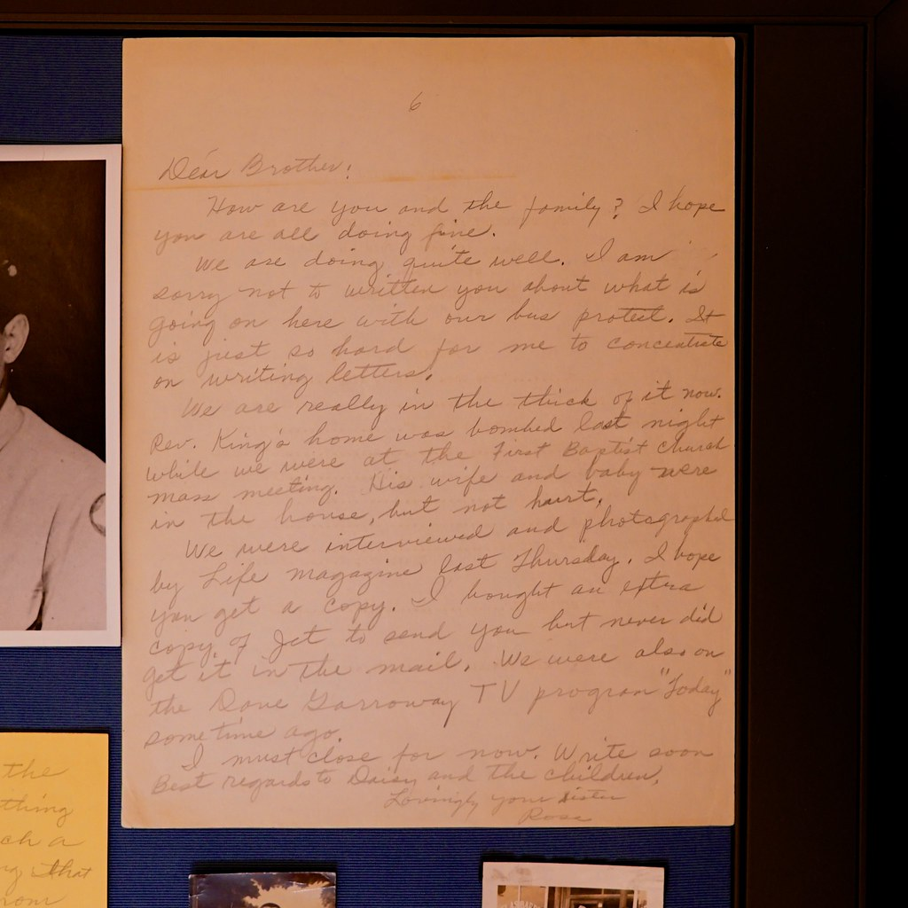 """Really in the thick of it"" - Rosa Parks Collection, Library of Congress"