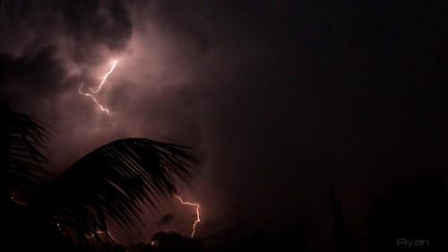 Thunder...