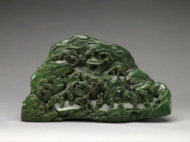 013 Roca con una talla representando al paraíso Taoista-© The Metropolitan Museum of Art. All rights reserved