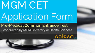 MGM CET Application Form 2015