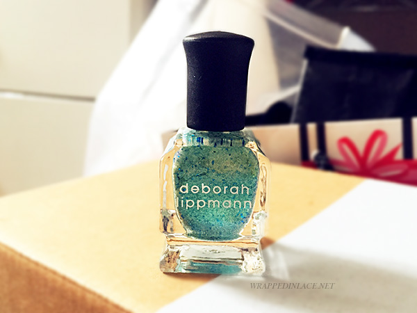 Deborah Lippmann Glitter Nail Lacquer (Mermaid's Dream) Review