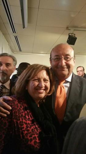 Beatrice De Donato e Luigi Vitali