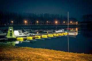 Marina for fishing boats