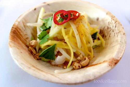 El Jefe de Malay-Green Mango & Lychee Salad