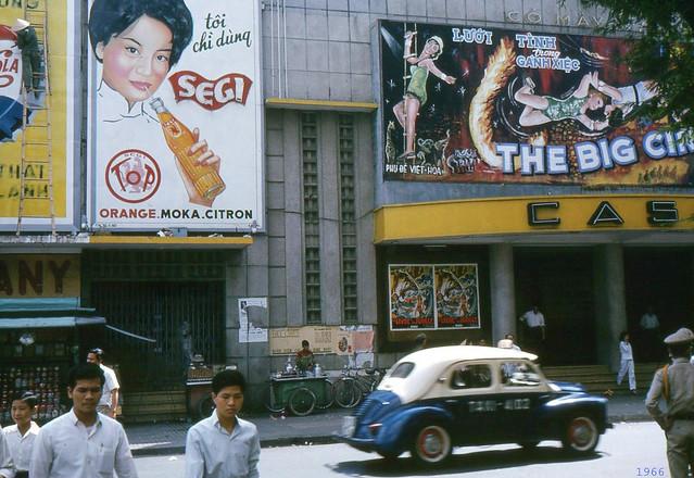 SAIGON 1966 - Rạp CASINO Saigon, đường Pasteur