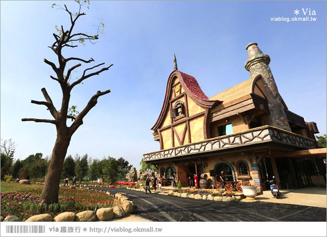 【熊大庄】嘉義民雄熊大庄森林主題園區~新觀光工廠報到!小熊的童話森林真實版2