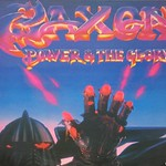"SAXON POWER AND THE GLORY NWOBHM CARRERE FRANCE 12"" VINYL LP"