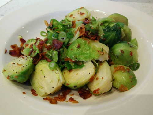 Brussel Sprouts and Bacon