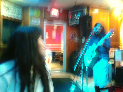 Ana and Gombas at Chichos (April 7 2014)