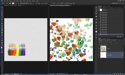 Screenshot of Color Palette for Mixer Brushes