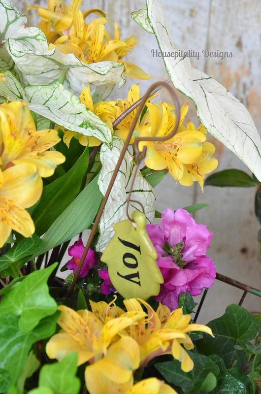 Porch Flowers-Housepitality Designs