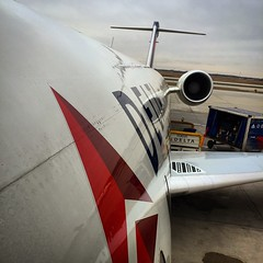 Time to fly. #jet #airplane #Delta
