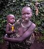 Surmi Girls, Tulgit, Ethiopia