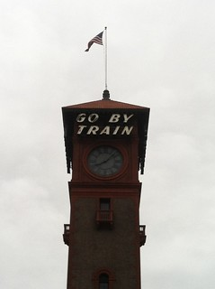 PDX train station tower