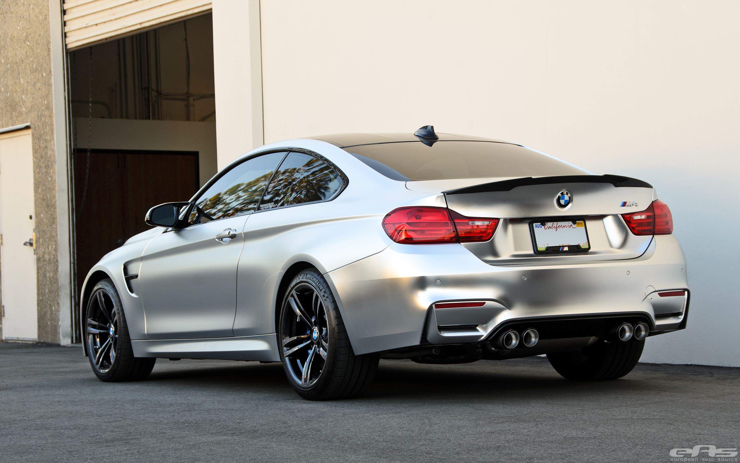 Frozen Chrome M4 Gets A Full Akrapovic Exhaust Bmw