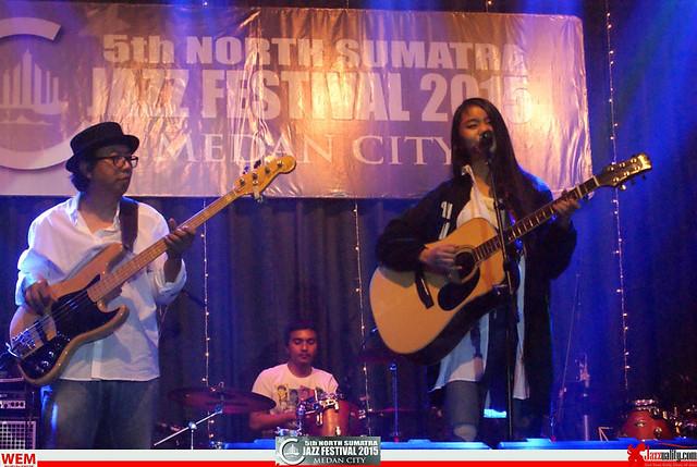 North Sumatra Jazz Festival 2015 - Vickay-Roedyanto  (6)