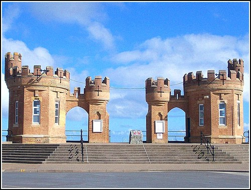 The Pier Towers at Withernsea .