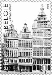 16 Markt Van Antwerpen timbre zd photo