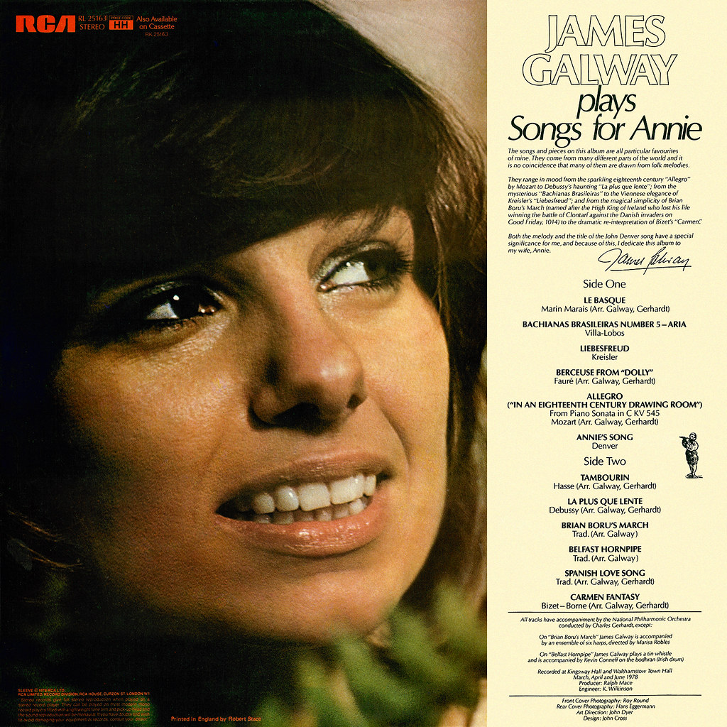 James Galway - Songs for Annie