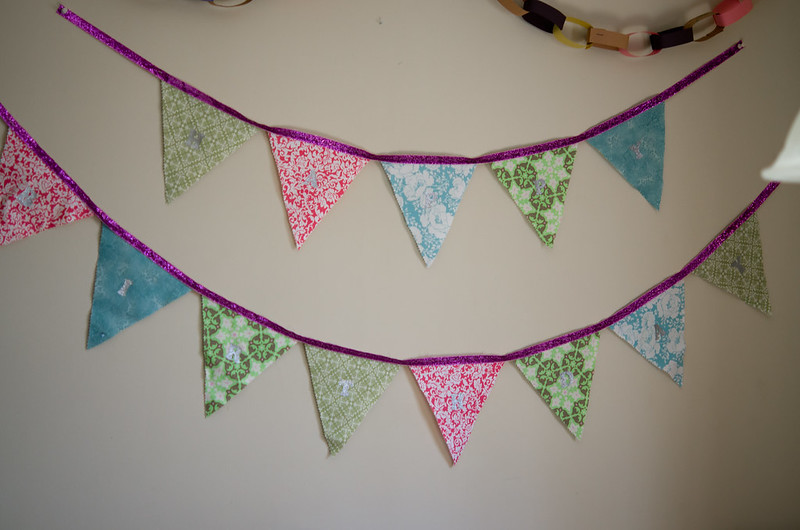 B is for bunting