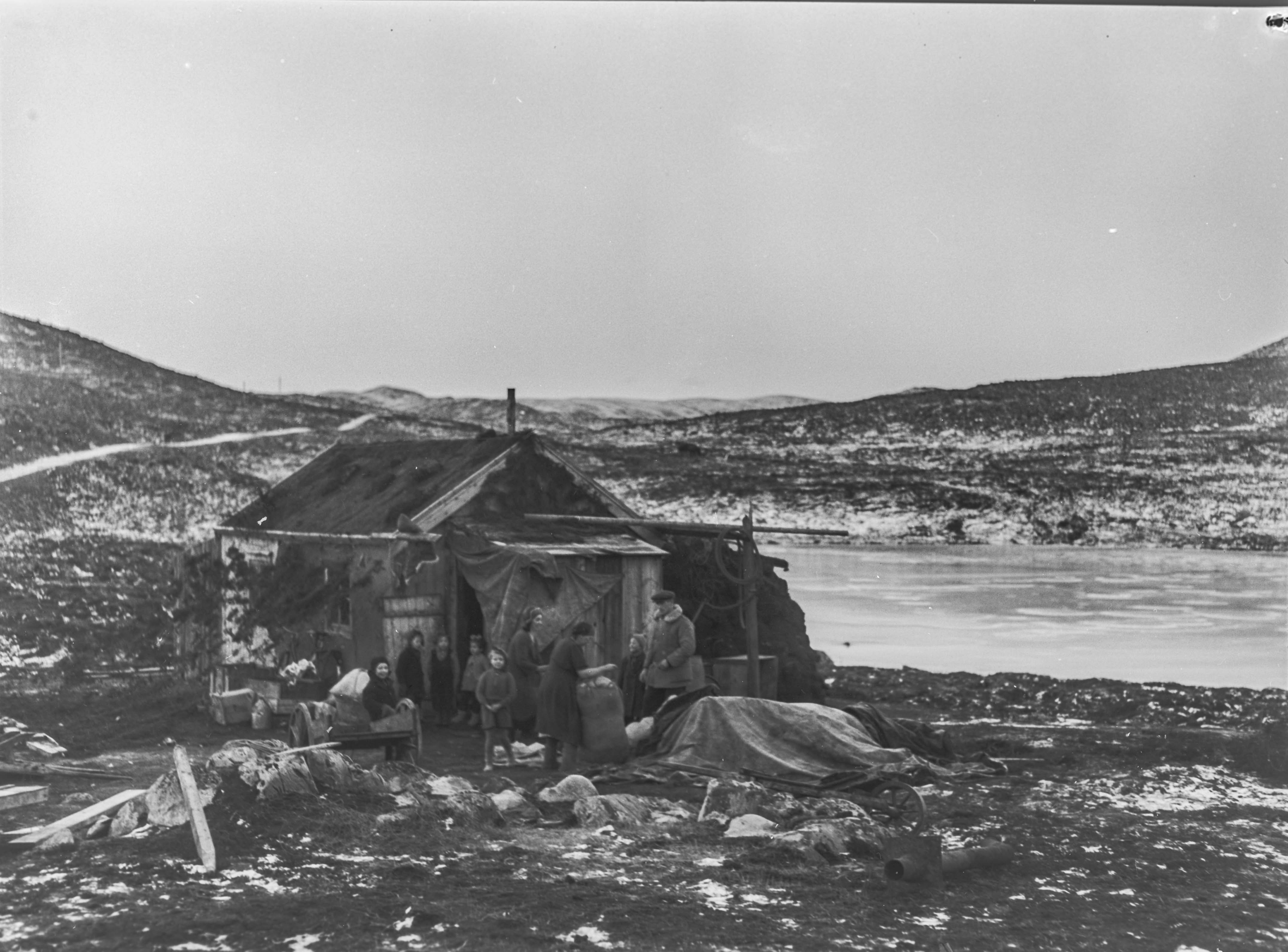 Ødeleggelsene i Gamvik