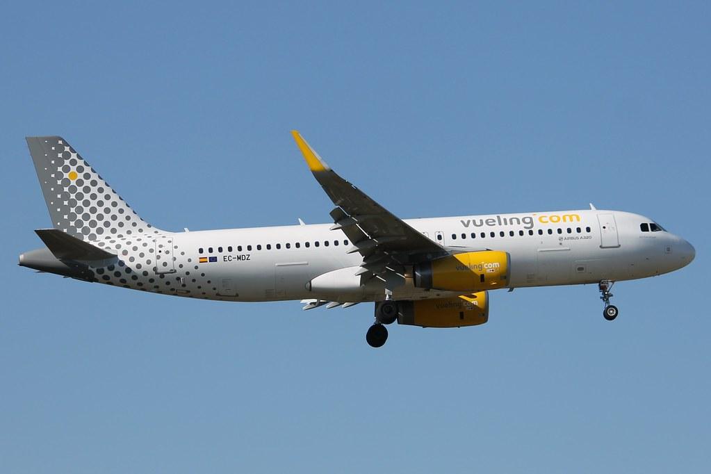 EC-MDZ - A320 - Vueling