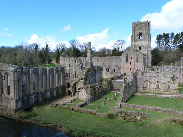Fountains Abbey (Yorkshire, Inglaterra)