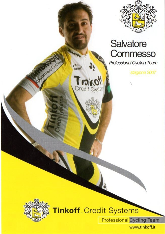 Salvatore Commesso - Tinkoff 2007