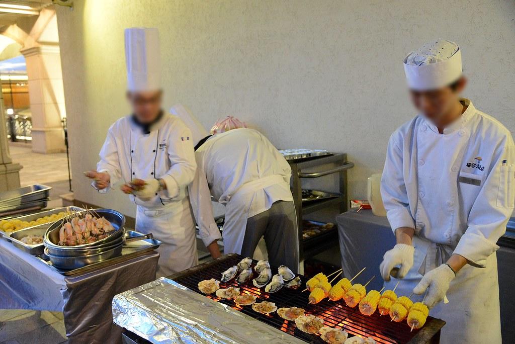 福容大飯店漁人碼頭 夏日燒烤BBQ