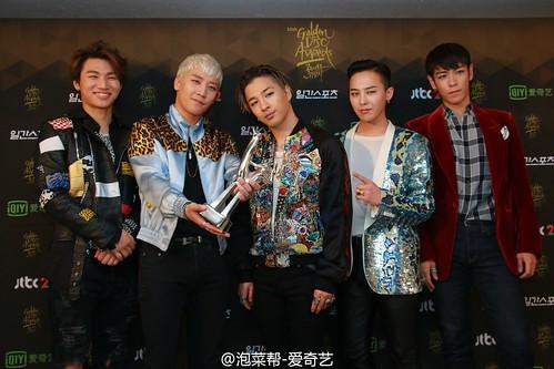 Big Bang - Golden Disk Awards - Backstage - 20jan2016 - 泡菜帮-爱奇艺 - 13