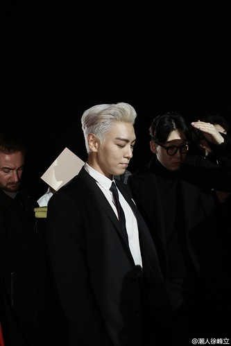 TOP - Dior Homme Fashion Show - 23jan2016 - 潮人徐峰立 - 01