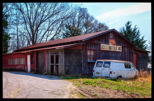 morning winter building store unitedstates market tennessee sunny daytime savannah derlict hardincounty photomatrix lightroom5 perfecteffects9