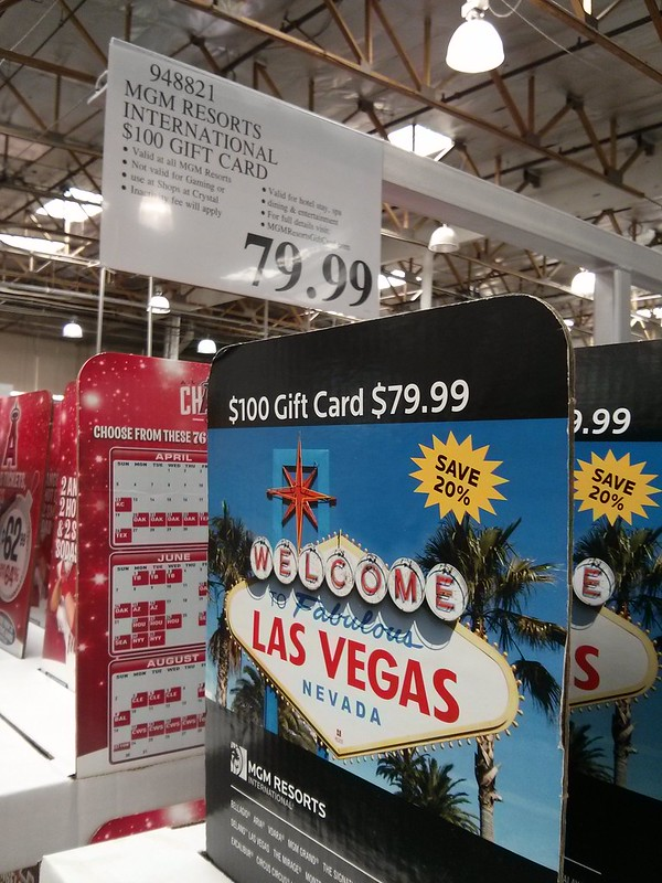 Mgm Resorts 100 Gift Card For 7999 At Costco Vegas Message Board