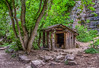 Hut on the trail to Hanging Lake by bdecker432