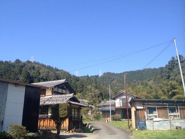 茶臼山 山容