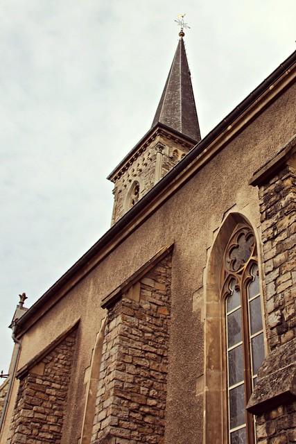 Hollerichin katolinen kirkko, Luxemburg