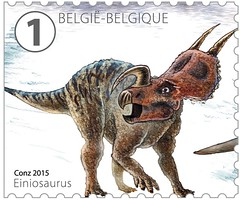14 DINOSAURES timbre g