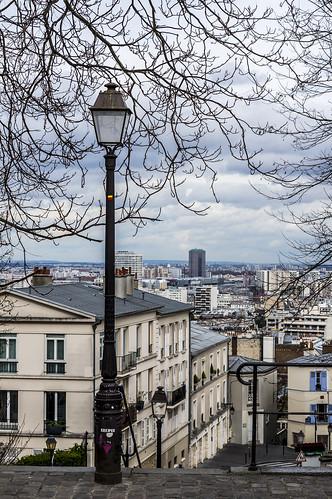 Montmartre, en descendant